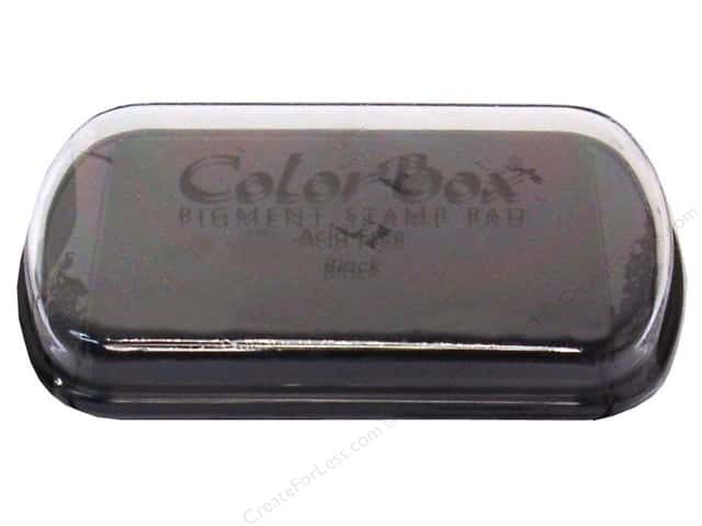 Colorbox Full Size Pigment Inkpad Black