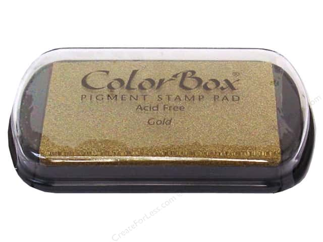 ColorBox Pigment Ink Pad Full Size Metallic Gold