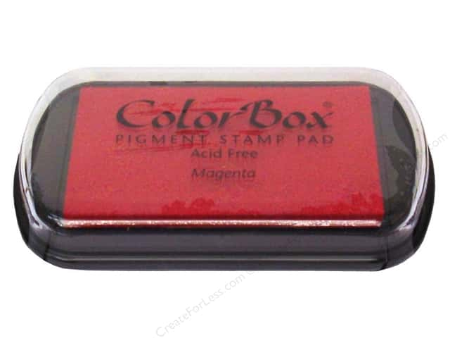Colorbox Full Size Pigment Inkpad Magenta