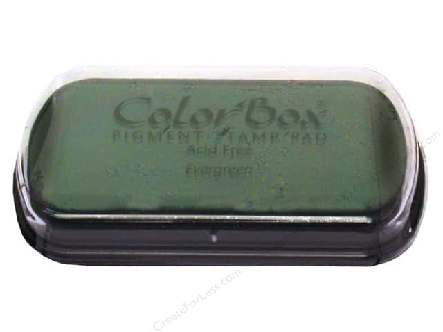 ColorBox Pigment Ink Pad Full Size Evergreen