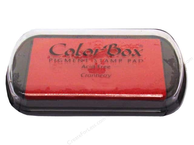 ColorBox Pigment Ink Pad Full Size Cranberry