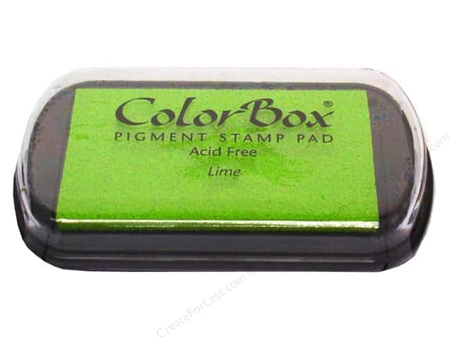 ColorBox Pigment Ink Pad Full Size Lime