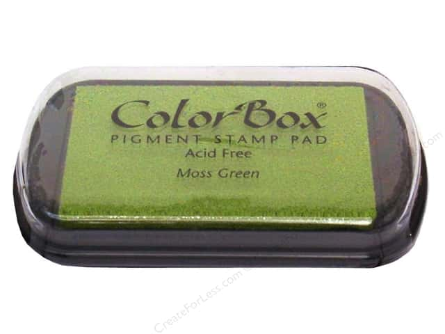 ColorBox Pigment Ink Pad Full Size Moss Green