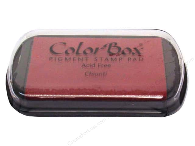 ColorBox Pigment Ink Pad Full Size Chianti