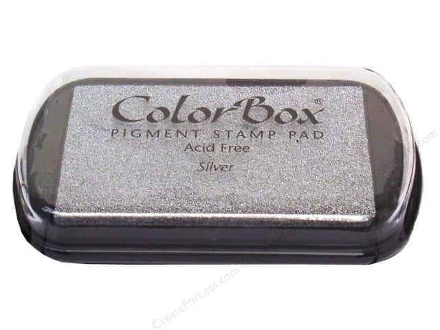 ColorBox Pigment Ink Pad Full Size Metallic Silver