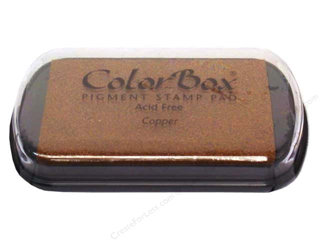 ColorBox Pigment Ink Pad Full Size Metallic Copper