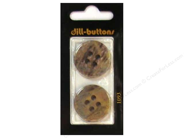 Dill 4 Hole Buttons 1 in. Beige #1093 2 pc.