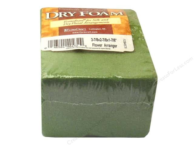 FloraCraft Desert Foam Arranger 3 7/8 x 2 7/8 x 1 7/8 in. Green 1 pc.