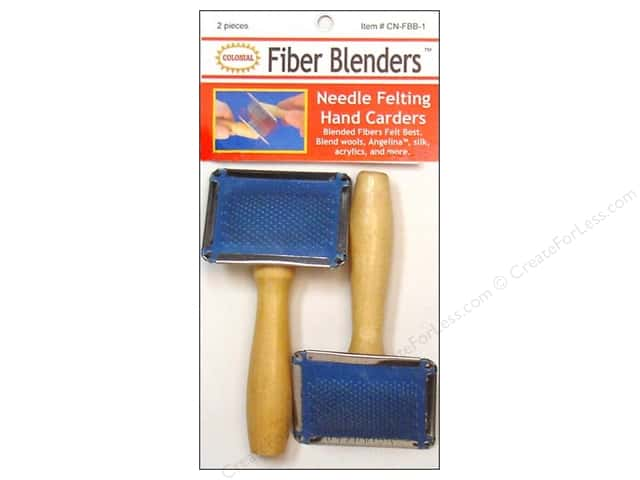 Colonial Needle Needle Felting Hand Carders 2 pc