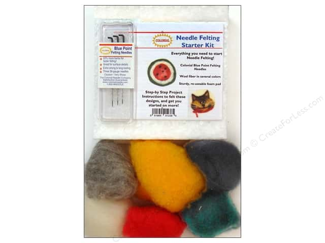 Colonial Needle Needle Felting Kits Starter