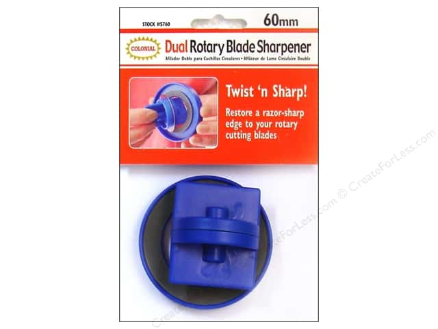 Colonial Needle Rotary Blade Sharpener - 60 mm