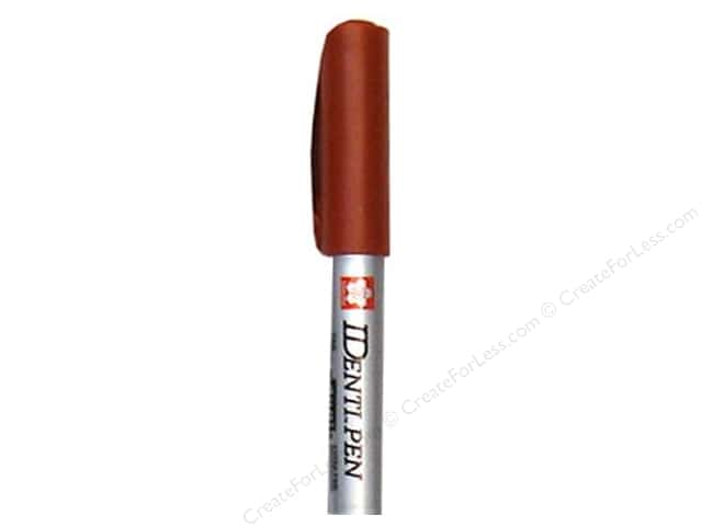 Sakura Identi-Pen Permanent Marker Dual Point Brown
