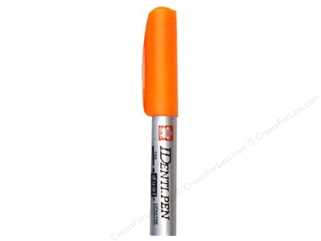 Sakura Identi-Pen Permanent Marker Dual Point Orange