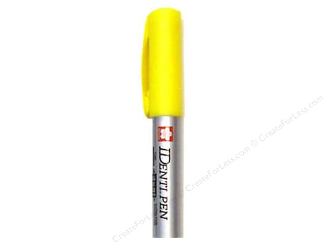 Sakura Identi-Pen Permanent Marker Dual Point Yellow