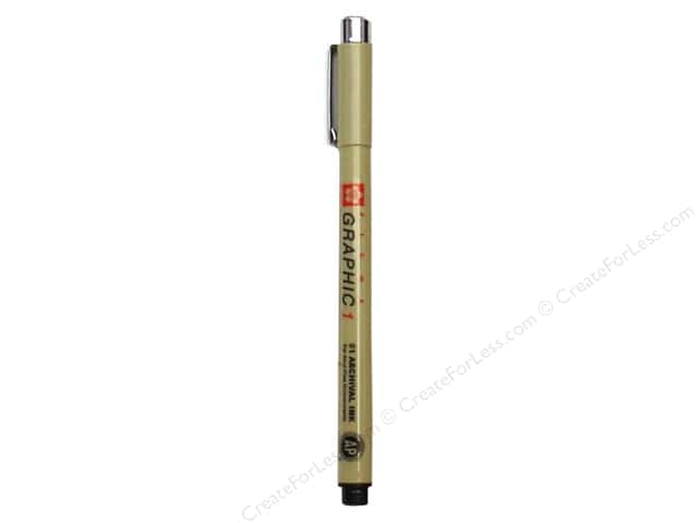 Sakura Pigma Graphic Pen 1.0 mm Black