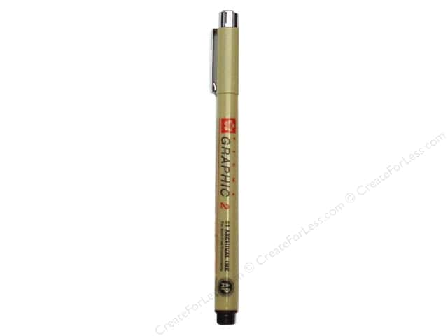 Sakura Pigma Graphic Pen 2.0mm Bulk Black