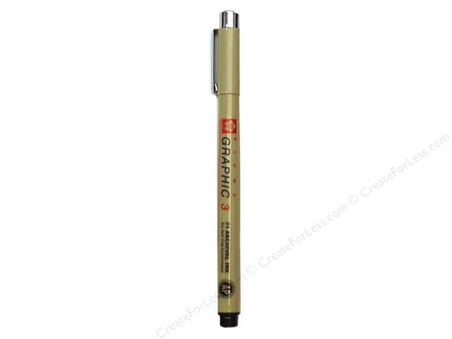 Sakura Pigma Graphic Pen 3.0mm Bulk Black