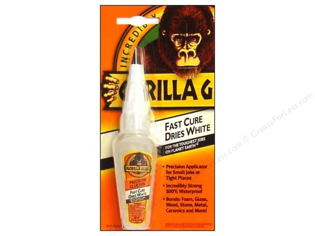 Gorilla Glue Precision Pen Carded .75 oz White