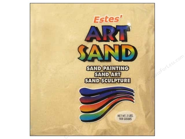 Estes Art Sand 2 lb Bag Beige