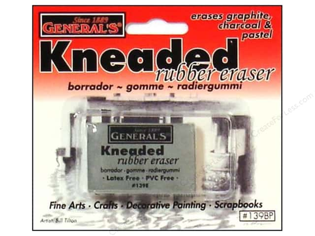 General's Eraser Kneaded Large Carded