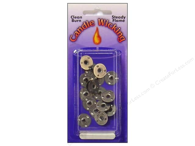 Pepperell Candle Wick Tab Sustainers 15mm 12pc