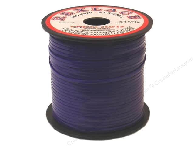Pepperell Rexlace Craft Lace 100 yd. Purple