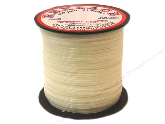 Pepperell Rexlace Craft Lace 100 yd. Nite Glow