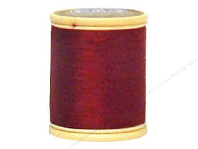 DMC Cotton Machine Embroidery Thread 50 wt. 547 yd. #902 Very Dark Garnet
