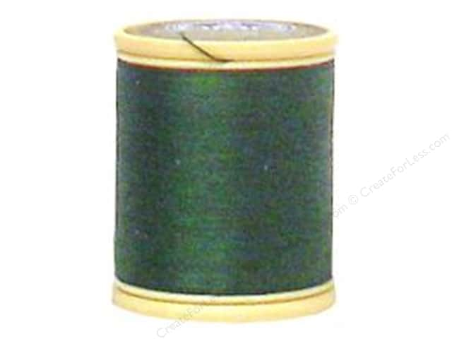 DMC Cotton Machine Embroidery Thread 50 wt. 547 yd. #319 Very Dark Pistachio