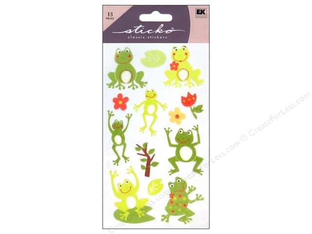 EK Sticko Stickers Frog World