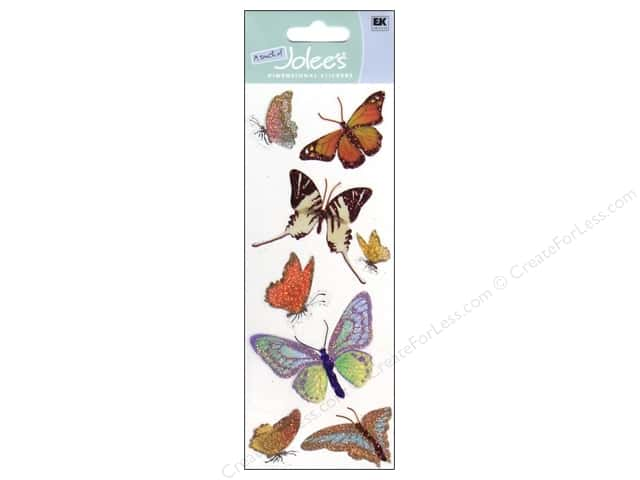 EK A Touch of Jolee's 3D Sticker Butterflies