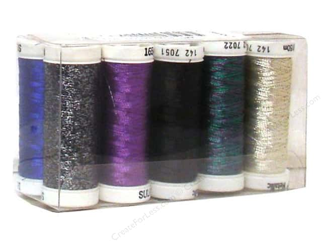 Sulky Original Metallic Thread Top 10 Sampler