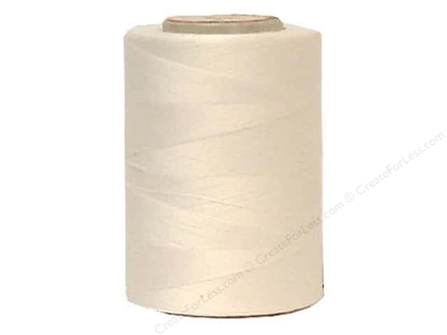 Coats Cotton Machine Quilting Thread 1200 yd. #1 White