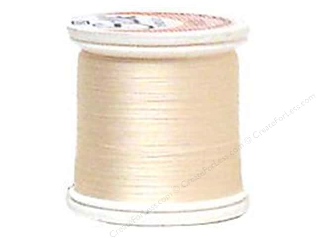 YLI Silk Thread 100 wt. 220 yd. #212 Natural White