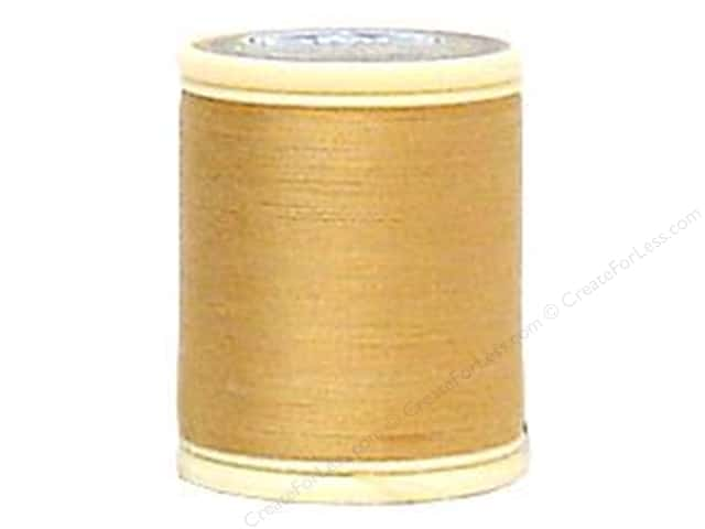 DMC Cotton Machine Embroidery Thread 50 wt. 547 yd. #437 Light Tan