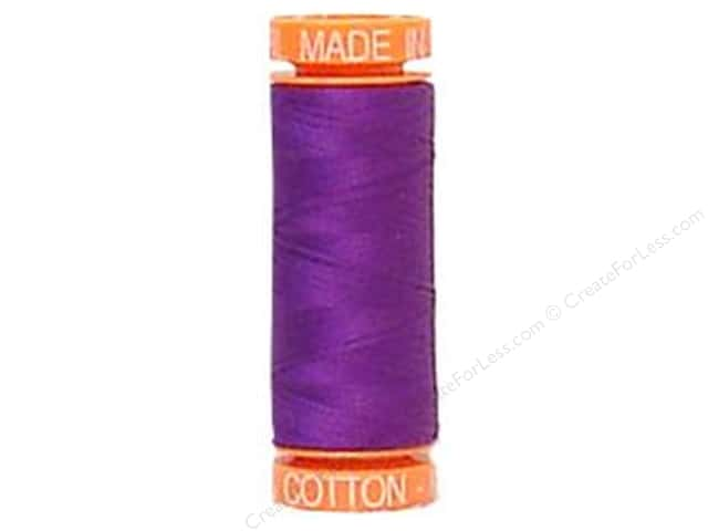 Aurifil Mako Cotton Quilting Thread 50 wt. #2545 Grape 220 yd.