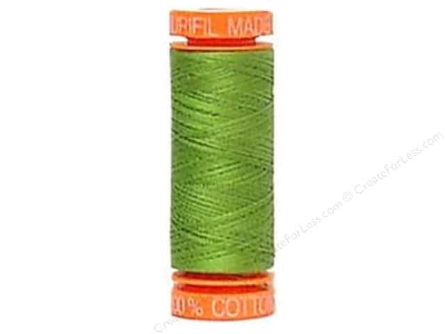 Aurifil Mako Cotton Quilting Thread 50 wt. #2888 Fern Green 220 yd.
