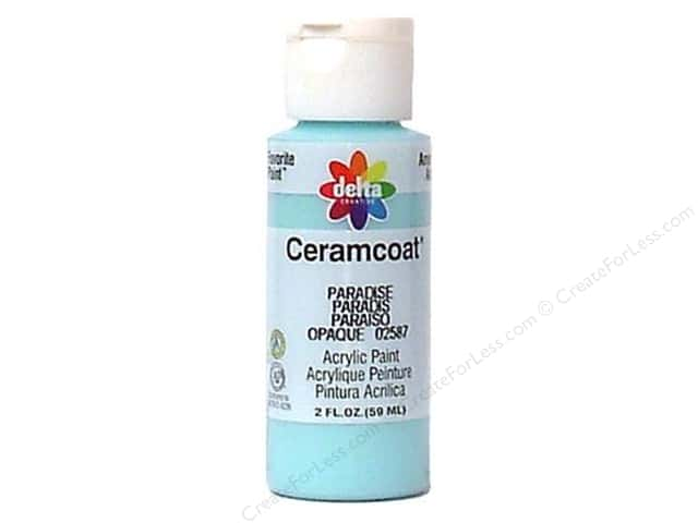 Ceramcoat Acrylic Paint by Delta 2 oz. #2587 Paradise