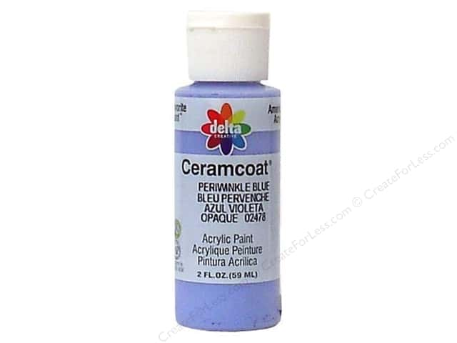 Ceramcoat Acrylic Paint by Delta 2 oz. #2478 Periwinkle Blue