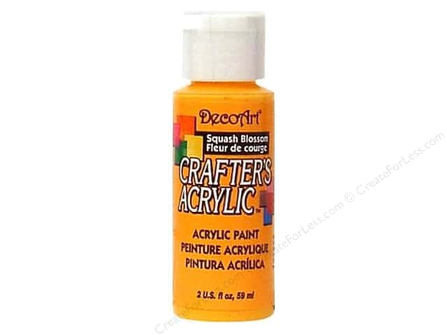 DecoArt Crafter's Acrylic Paint 2 oz. #55 Squash Blossom