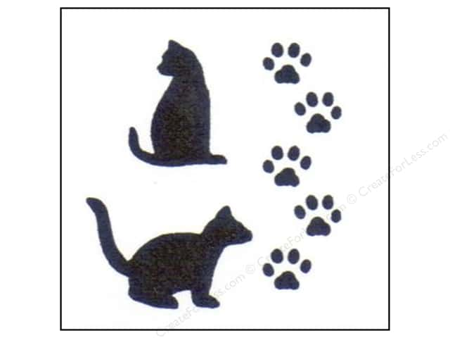 StenSource Painting Stencil 5 in. Cat Paws