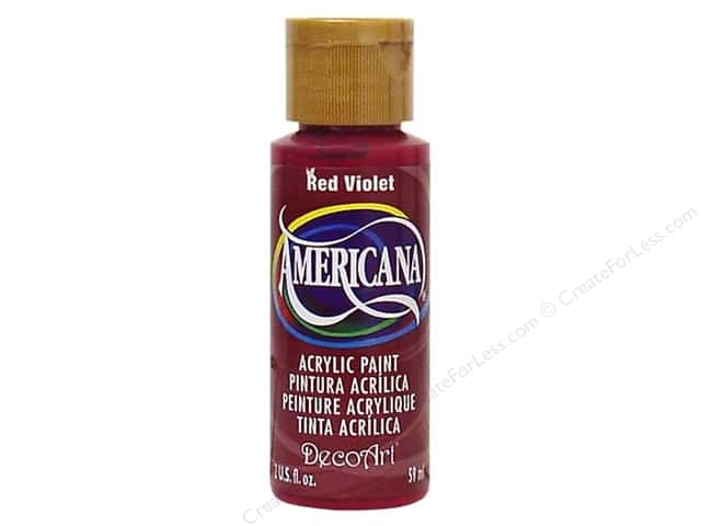 DecoArt Americana Acrylic Paint 2 oz. #140 Red Violet