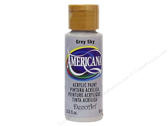 DecoArt Americana Acrylic Paint 2 oz. #111 Grey Sky
