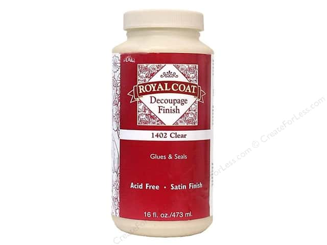 Plaid Royal Coat Decoupage Finish 16 oz