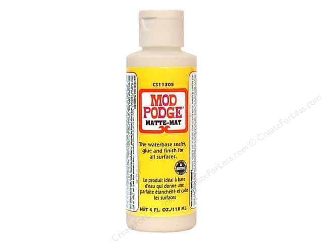 Plaid Mod Podge 4 oz. Matte