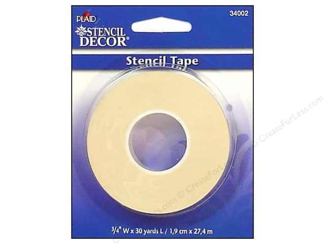 Plaid Stencil Decor Stencil Tape 3/4 in. x 30 yd.