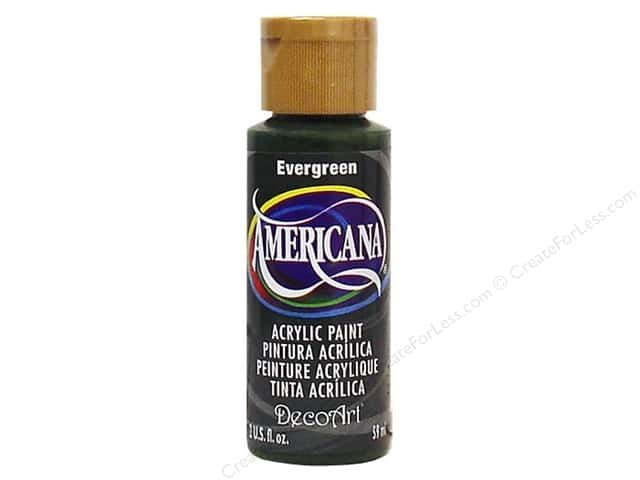 DecoArt Americana Acrylic Paint 2 oz. #082 Evergreen