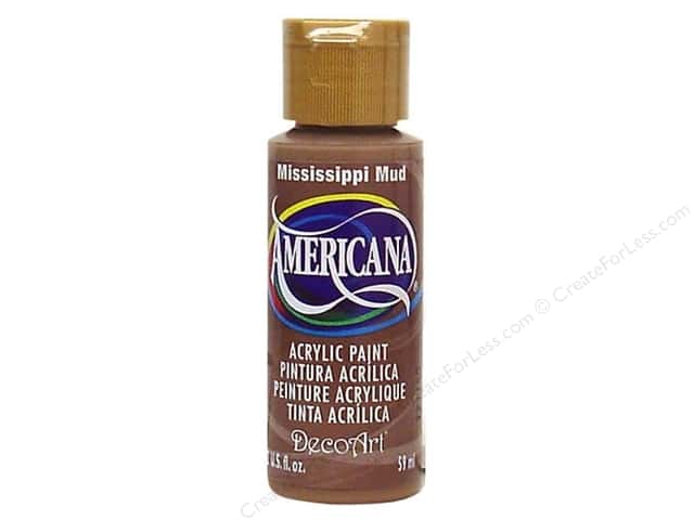 DecoArt Americana Acrylic Paint 2 oz. #94 Mississippi Mud