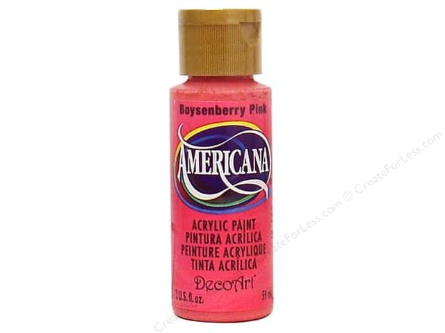 DecoArt Americana Acrylic Paint 2 oz. #029 Boysenberry Pink