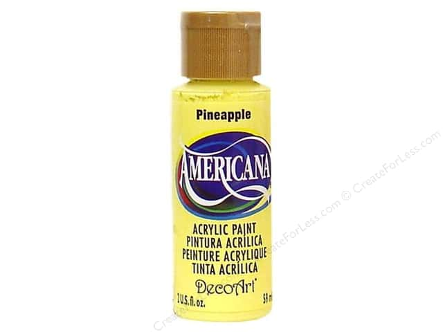 DecoArt Americana Acrylic Paint 2 oz. #06 Pineapple